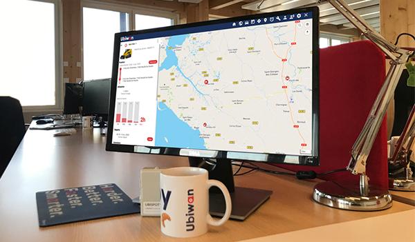 Café Ubiwan : Visualisez l'activité des engins sur vos chantiers